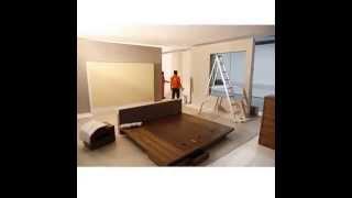 Bedroom Installation in our PhotoStudio