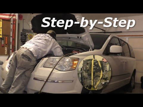 Chrysler Town & Country Transmission Removal And Replacement