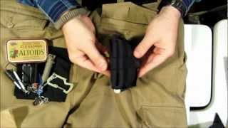 Ultralight Survival Kit, ONE Pocket Pt. 1: Overview + Wallet Exterior Breakdown