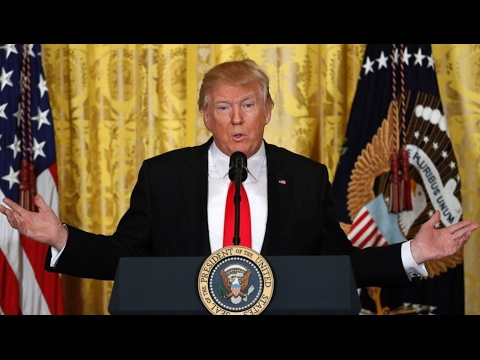 Trump Full Press Conference (2/16/17) | ABC News