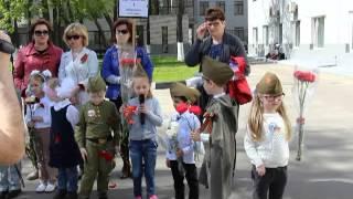 Участие в митинге,посвященному 70-летию Победы в ВОВ
