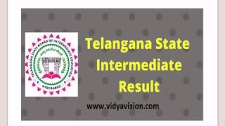 ts inter 1st year results 2017 ts inter results 2017 release on april 17 2017 vidyavision