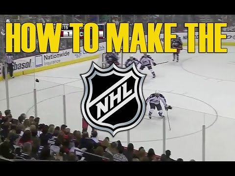 How To Make It To The NHL - What It Takes To Become A Pro Hockey Player