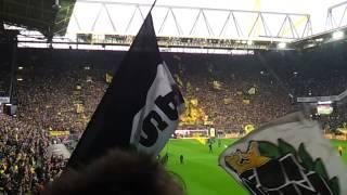 Vor dem Spiel Borussia Dortmund gegen Borussia M'gladbach