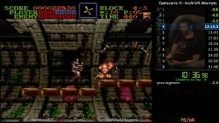 Super Castlevania IV 31:47  [PB] - Speedrun