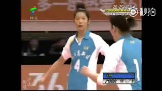 [Chinese women's volleyball]Zhu Ting and Lang Ping