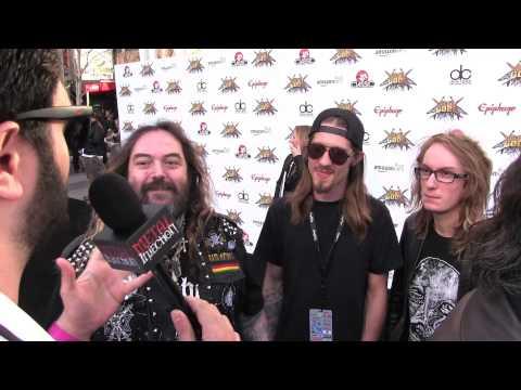 Max Cavalera & Family at REVOLVER GOLDEN GODS 2014 | Metal Injection