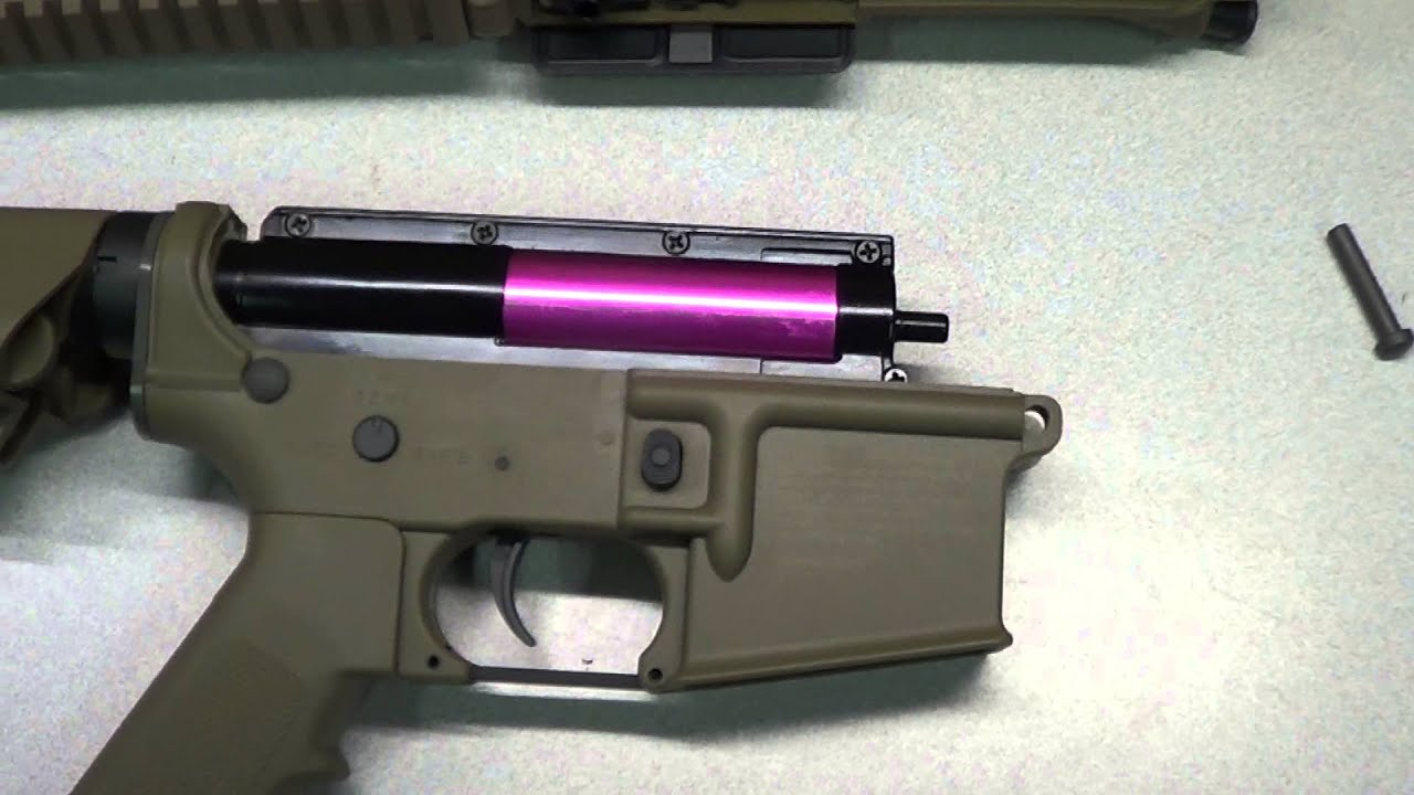 Airsoft Gun M4 How To Convert An M4 Airsoft To Shoot 22 Long Rifle - A