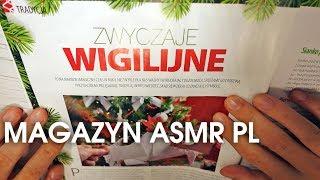 Przeglądanie Świątecznego Magazynu. ASMR po polsku