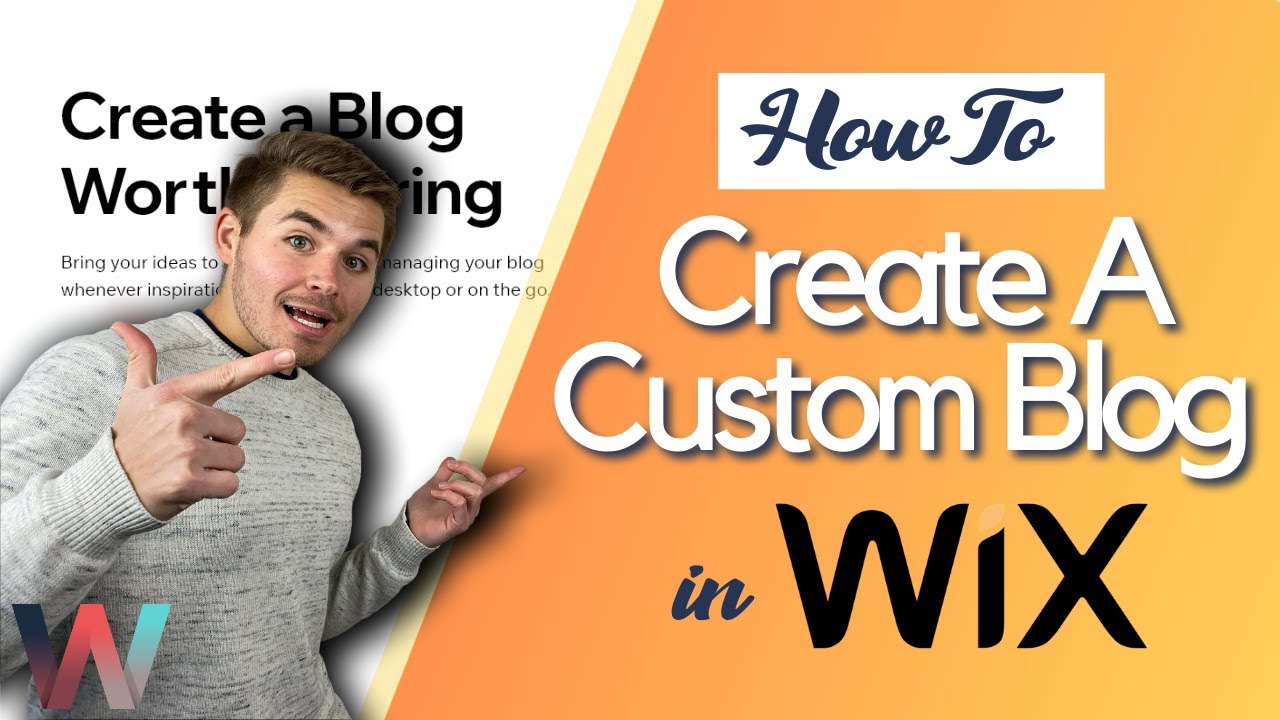 How To Create A Custom Blog in Wix | A COMPLETE Guide 2021