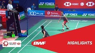 YONEX FRENCH OPEN 2018 | Badminton MS - QF - Highlights | BWF 2018