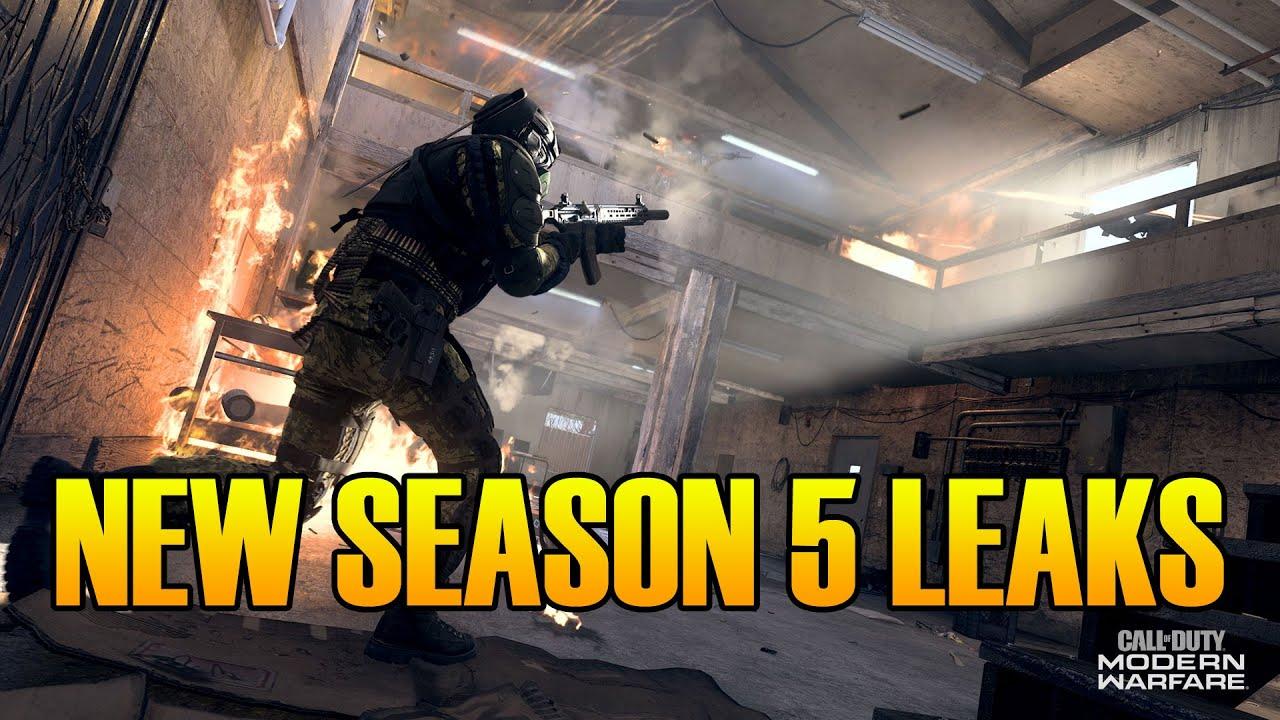 Modern Warfare Warzone Updates New Season 5 Leaks Whats New