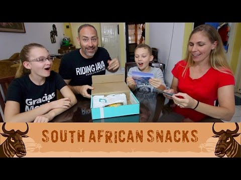 AMERICANS try SOUTH AFRICAN Snacks for the First Time