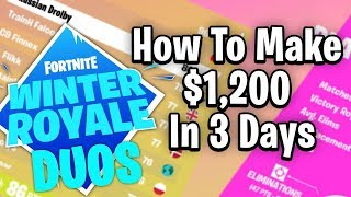 How To Make At Least $1,200 In Just 3 Days - Winter Royale Tips and Tricks