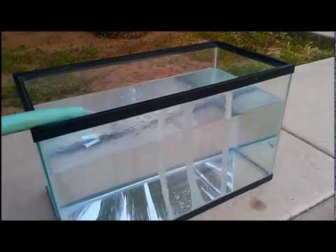 Fixing cracked fish tanks 29 10 gallon repair youtube for Acrylic vs glass fish tank