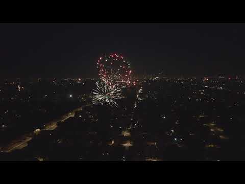 Chicago - Wild Illegal Fireworks Erupt On 4th of July 2020 - 4K Drone Footage!!!