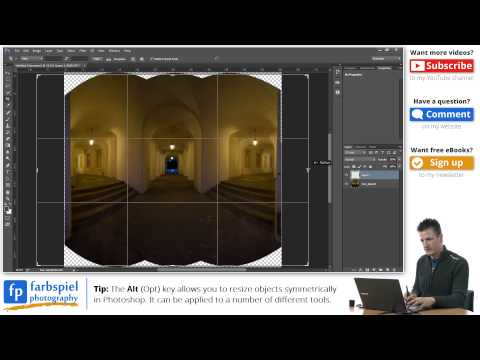 How to create a perfect interior panorama image