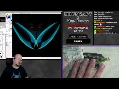 Stream Archive - Dual Creative stream with Mrs. Drumz. Digit