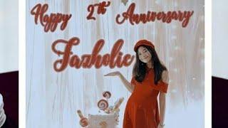 2th anniversary fazholic ajeng fauziah