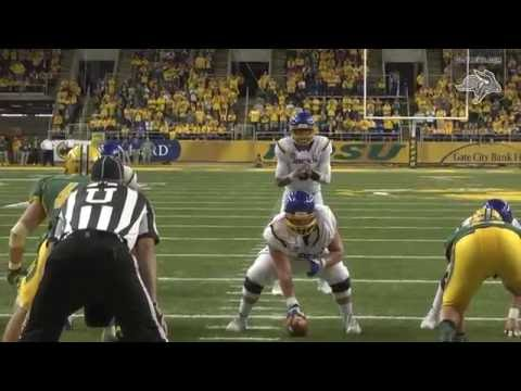 Football at North Dakota State Highlights (10.15.2016)