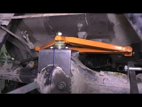 Установка А образного рычага GTS на ВАЗ 21213 Нива