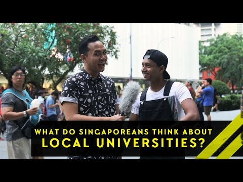 What Do Singaporeans Think About Our Local Universities? | Word On The Street | EP 8