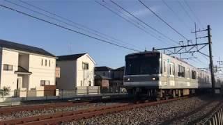【鉄道動画】武里~一ノ割にて 東京メトロ日比谷線03系通過シーン