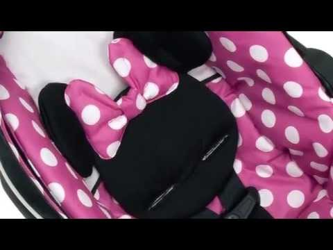 Minnie Mouse Infant Car Seat - YouTube