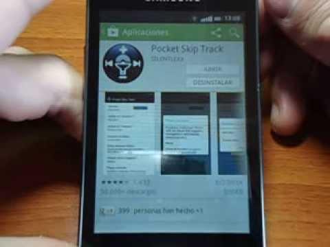 Aplicación Pocket Skip Track (Cambia de Canción con los Botones Físicos sin ser Root)