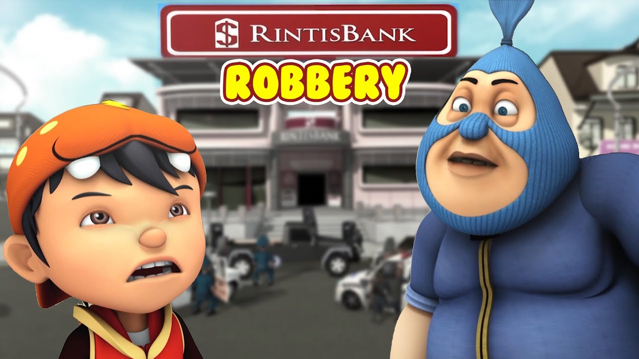 BoBoiBoy (Hindi) S3 E7 - The Ultimate Bank Robbery   Adventure Videos for Kids in Hindi