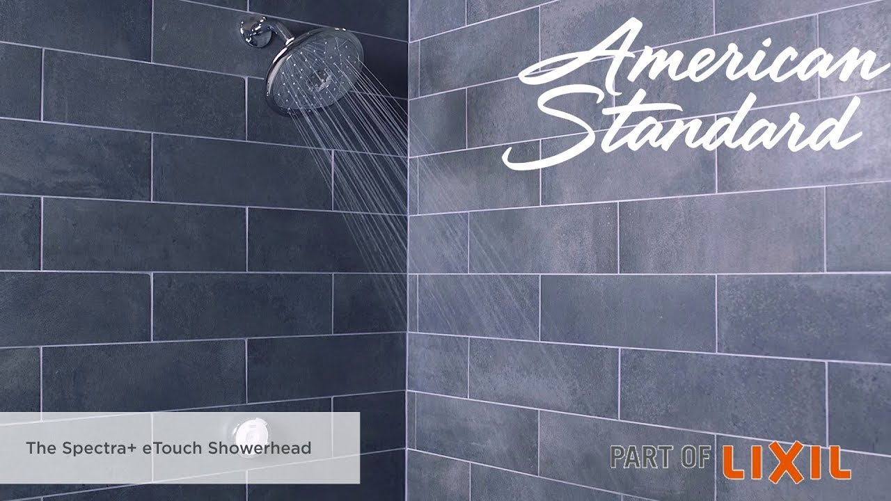 The Spectra+ eTouch Showerhead From American Standard - YouTube