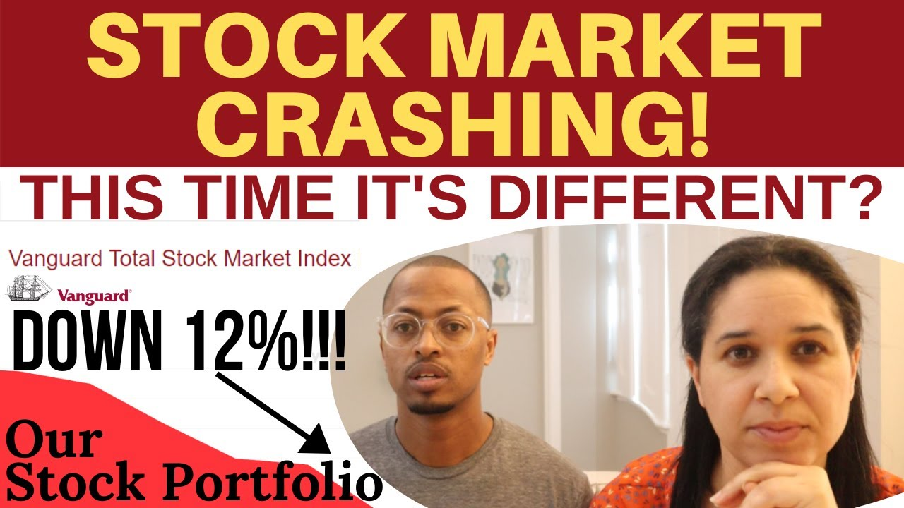Stock Market Is Crashing | How It's Affecting Our Financial Independence Plan & Early Retir