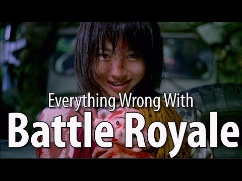 Everything Wrong With Battle Royale poster