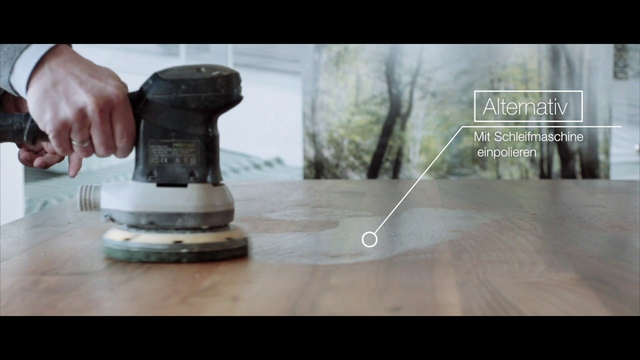 biofa pflegevideo f r m bel und arbeitsplatten youtube. Black Bedroom Furniture Sets. Home Design Ideas