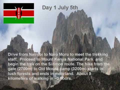 Mt Kenya Trek & Climb