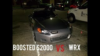 Turbo S2000 vs 2.5 Swapped WRX vs Turbo Honda Civic