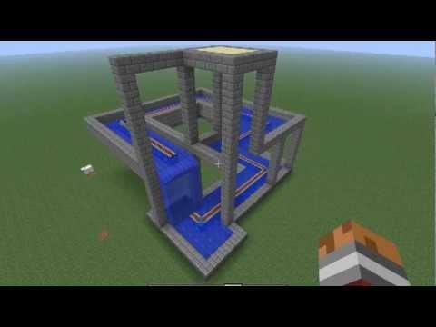 Minecraft Escher Waterfall Rebuild Youtube