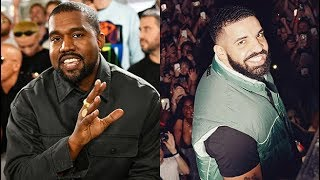 Kanye West Dry Snitches on Drake for Buying 2 Rows of Seats at Pusha-T Concert + Deny Sample Request