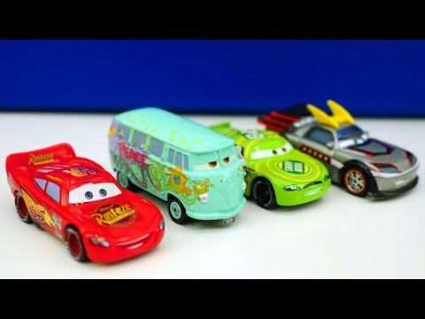 disney cars doc hudson vs lightning deutsch german doovi. Black Bedroom Furniture Sets. Home Design Ideas