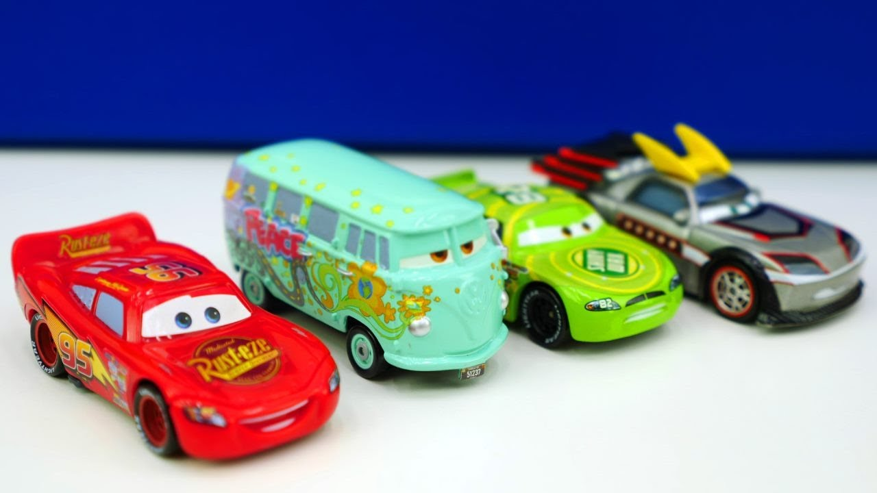 Packe disney cars und lightning mcqueen aus youtube