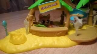 Приключение Юху и его друзей, обзор игрушки Пляжный бар