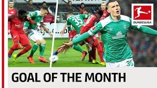 Maximilian Eggestein - January 2019's Goal of the Month Winner