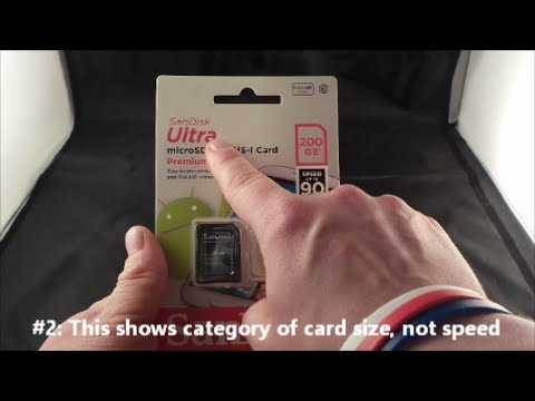 MicroSD Cards - What You Need To Know!
