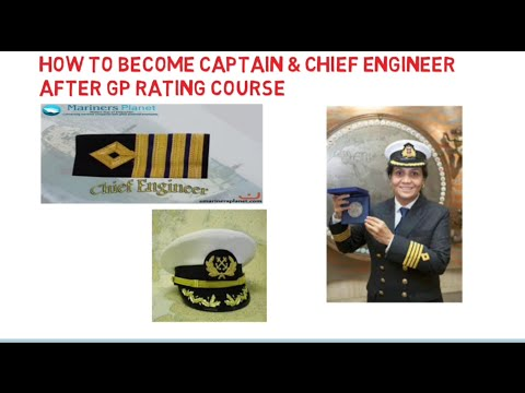 How to become Captain or Chief Engg | After GP Rating course - YouTube