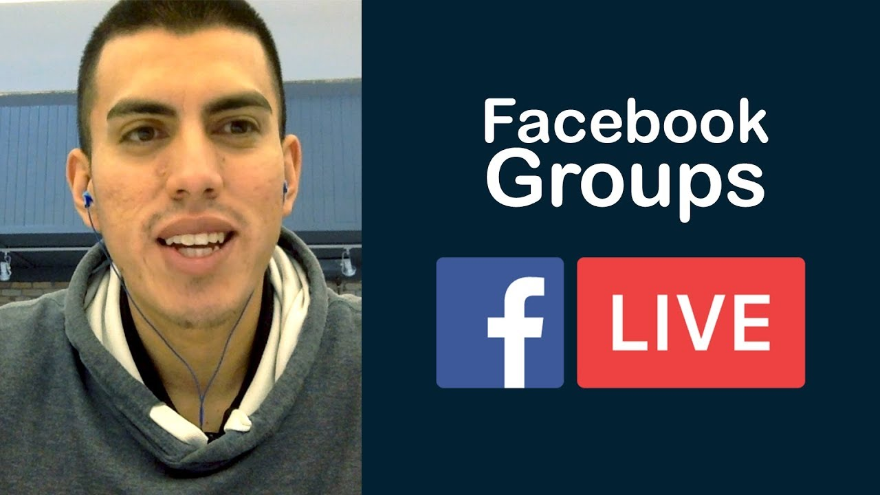 How To Go Live On A Facebook Group Using Obs Youtube