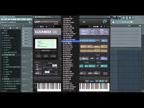 Review: UVI workstation VST Cameo soundbank