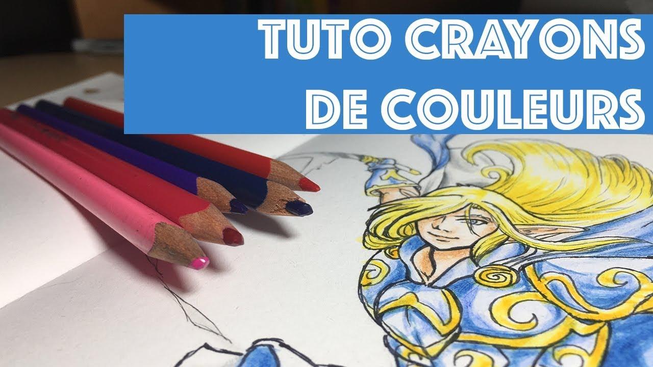 Comment Faire Un Coloriage Anti Stress.Tuto Comment Bien Colorier Aux Crayons De Couleurs