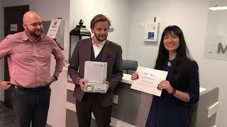 Победильница Розыгрыша Операции по Увеличению Груди в Клинике Медейра. 1 Место