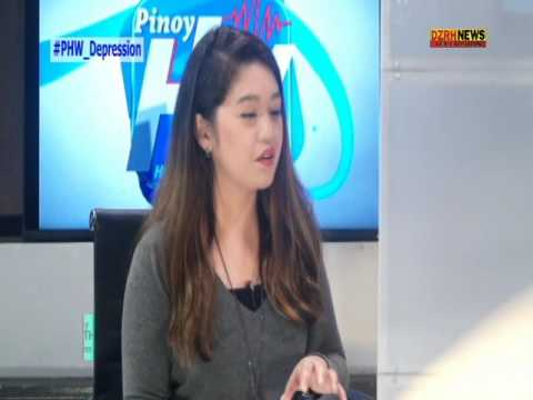 PINOY HEALTH AND WELLNESS:  DEPRESSION