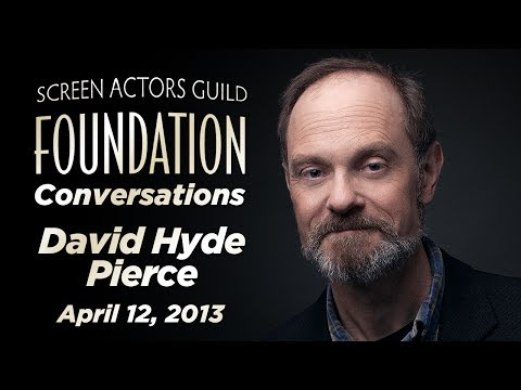 Conversations with David Hyde Pierce